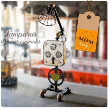 Lámpara con diseño original