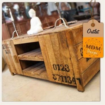 Mueble madera bajo