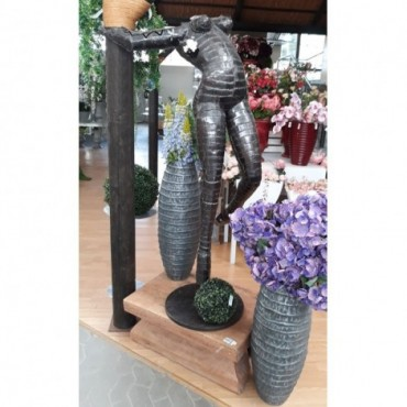 Escultura metálica