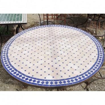Mesa de jardín redonda