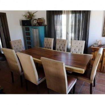 mesa rectangular maciza