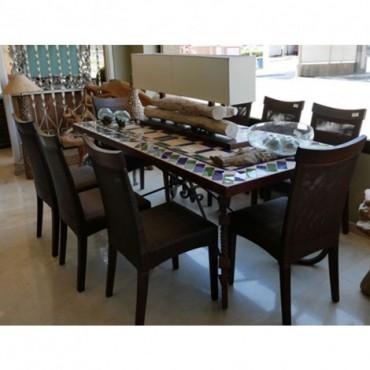 Mesa comedor de cerámica