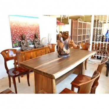 Mesa salón tronco