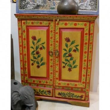 Mueble 2 puertas colores llamativos