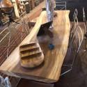 Mesa de madera 1 sola pieza