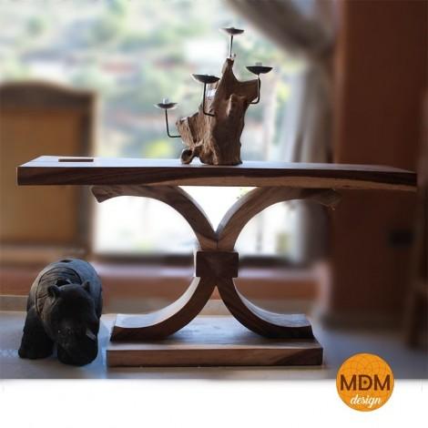 Mesa de madera 1 pata