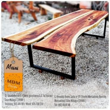 Mesa madera baja